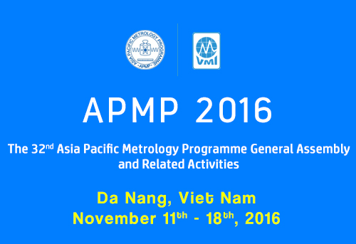 APMP 2016 - 32nd Asia Pacific Metrology Programme General Assembly and Related Activities
